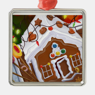 Gingerbread House Christmas Ornaments