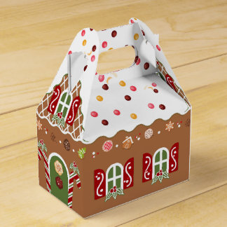 Gingerbread House Favour Box