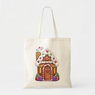 Gingerbread House Gift Bag