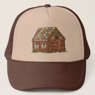Gingerbread House Home Sweet Home Christmas Xmas Trucker Hat