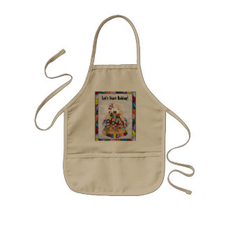 Gingerbread House in Stained Glass Apron