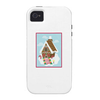Gingerbread House iPhone4 Case