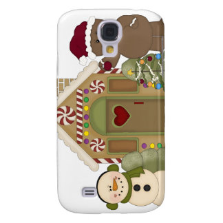 Gingerbread House iPhone 3G Case Samsung Galaxy S4 Case