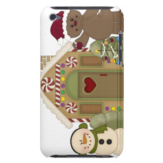 Gingerbread House iTouch Case Barely There iPod Cover