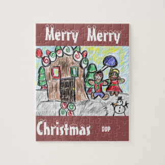 gingerbread house jigsaw puzzles
