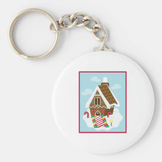 Gingerbread House Keychains