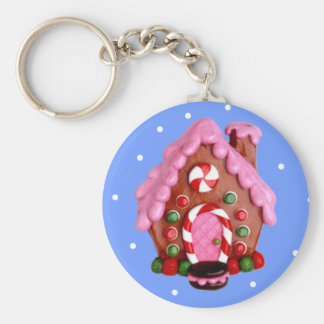 Gingerbread House Key Chains