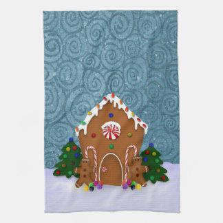 Gingerbread House Kitchen Towel