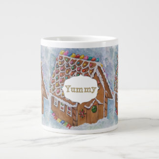 GINGERBREAD HOUSE LARGE COFFEE MUG