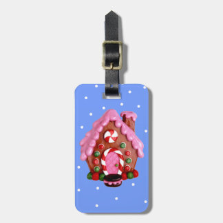 Gingerbread House Tag For Luggage