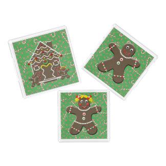Gingerbread House Man Girl Christmas Cookies
