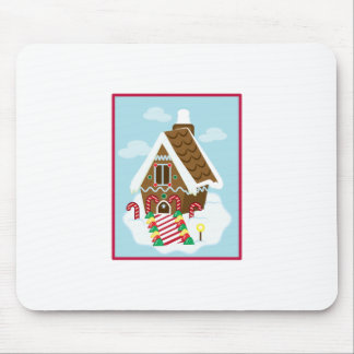 Gingerbread House Mousepads