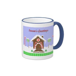 Gingerbread House Mugs