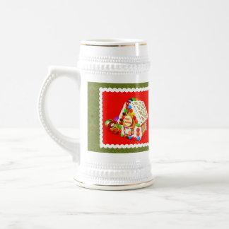 Gingerbread house coffee mugs
