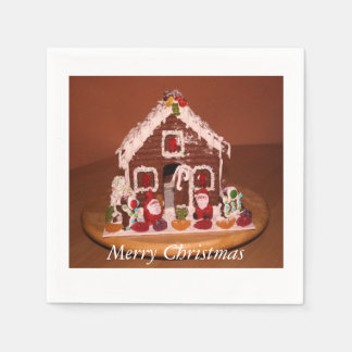 Gingerbread House Paper Napkins