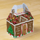 Gingerbread House Personalised Holiday Box