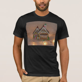 Gingerbread House Porcelain T-Shirt