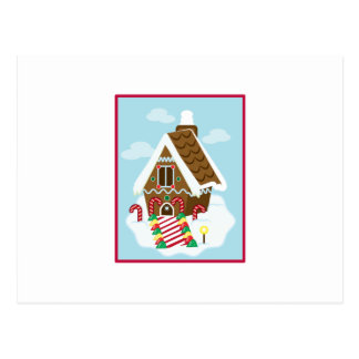 Gingerbread House Postcards