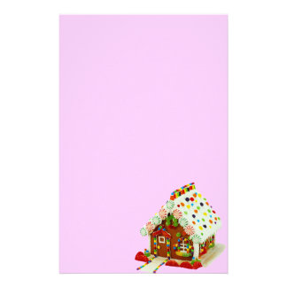 Gingerbread House Stationery