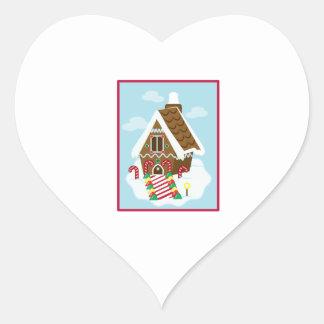 Gingerbread House Sticker