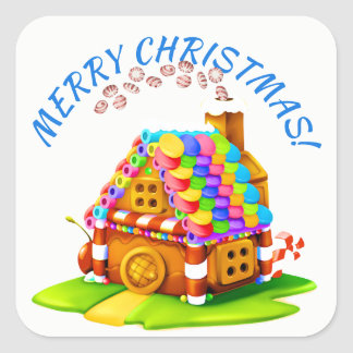 Gingerbread House Sticker 2