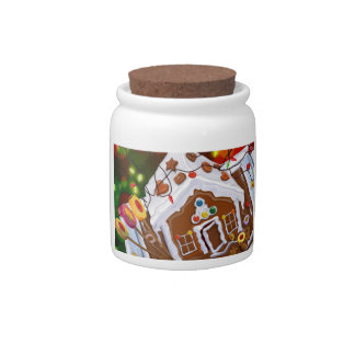 Gingerbread House Candy Dish