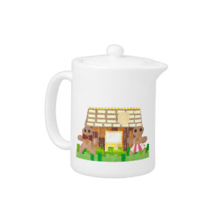 Gingerbread House Teapot