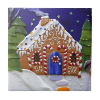 Gingerbread House Tile