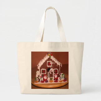 Gingerbread House Tote Bag