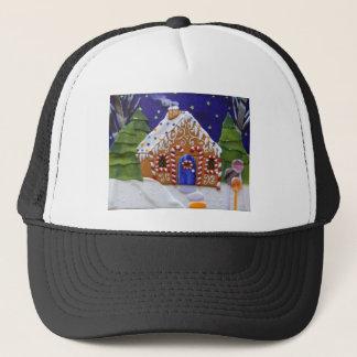 Gingerbread House Trucker Hat