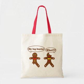 Gingerbread Humor Budget Tote Bag
