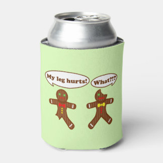 Gingerbread Humour Can Cooler
