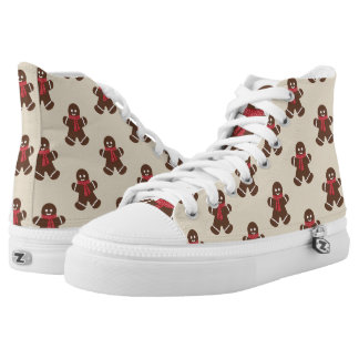 Gingerbread male - beige high tops