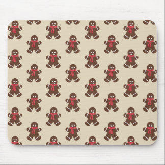 Gingerbread male - beige mouse pad
