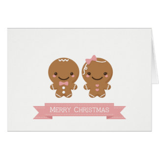 Gingerbread Man and Gingerbread Lady Card