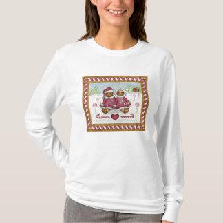 Gingerbread man and woman T-Shirt