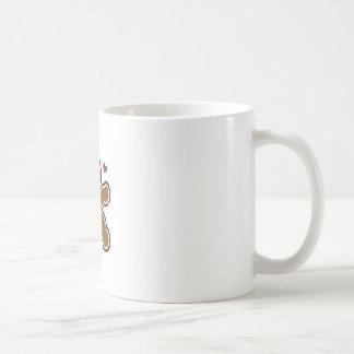 GINGERBREAD MAN APPLIQUE COFFEE MUG