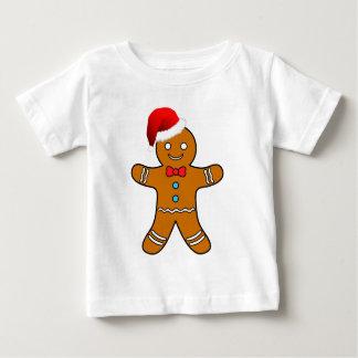 gingerbread man at christmas shirts