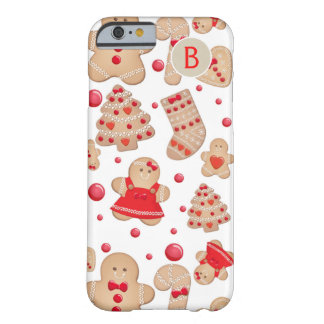 Gingerbread Man Baked Cookies Rustic Whimsical Barely There iPhone 6 Case