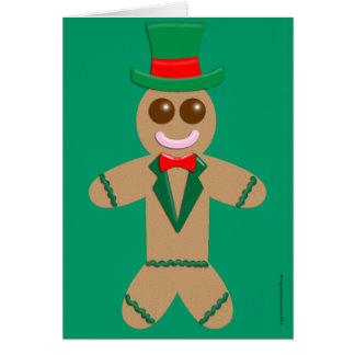 Gingerbread Man Card