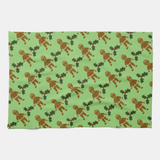 Gingerbread Man Christmas Kitchen Towel