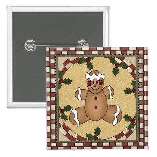 Gingerbread Man Cookie Pin