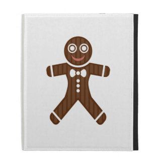 Gingerbread Man Cookie iPad Folio Covers