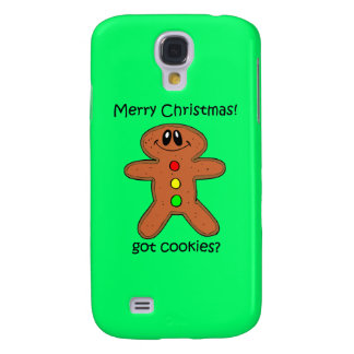 gingerbread man cookie Christmas Galaxy S4 Cover