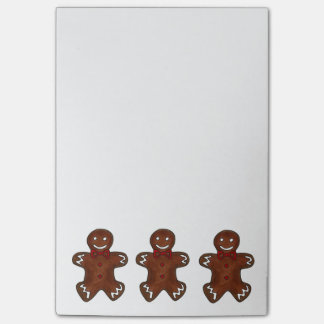 Gingerbread Man Cookie Christmas Post-Its Post-it® Notes