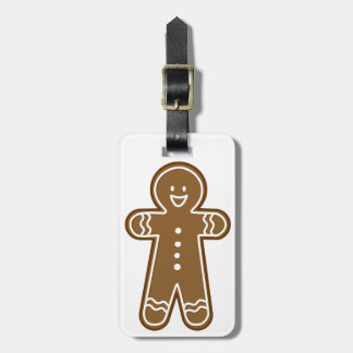 Gingerbread Man cookie Tags For Bags