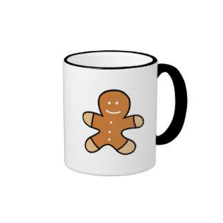 Gingerbread Man Cookie Coffee Mugs