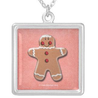 Gingerbread Man Cookie Pendants