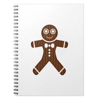 Gingerbread Man Cookie Journals