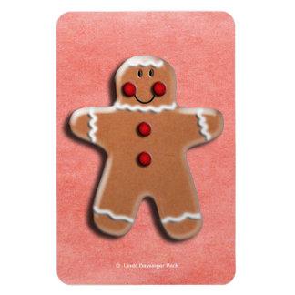 Gingerbread Man Cookie Magnet